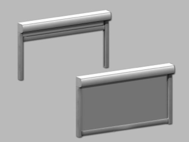 Toldos verticales toldos cofre toldos madrd toldos for Tubos de aluminio para toldos